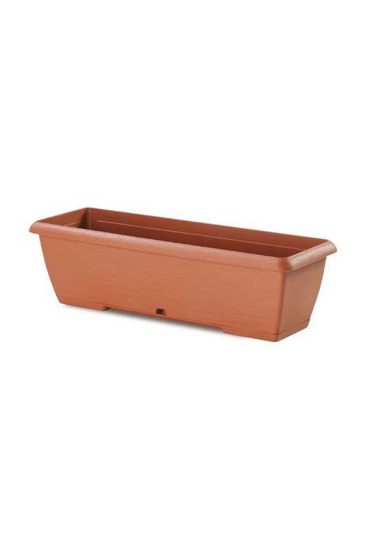 Cassetta Terrae con sottocassetta color Terracotta