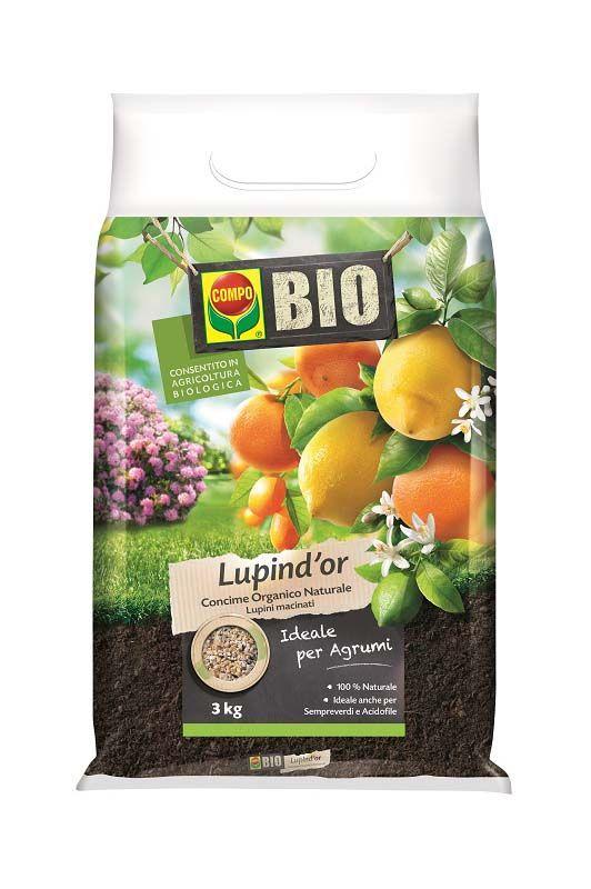 Concime Bio Lupind'or Compo per agrumi
