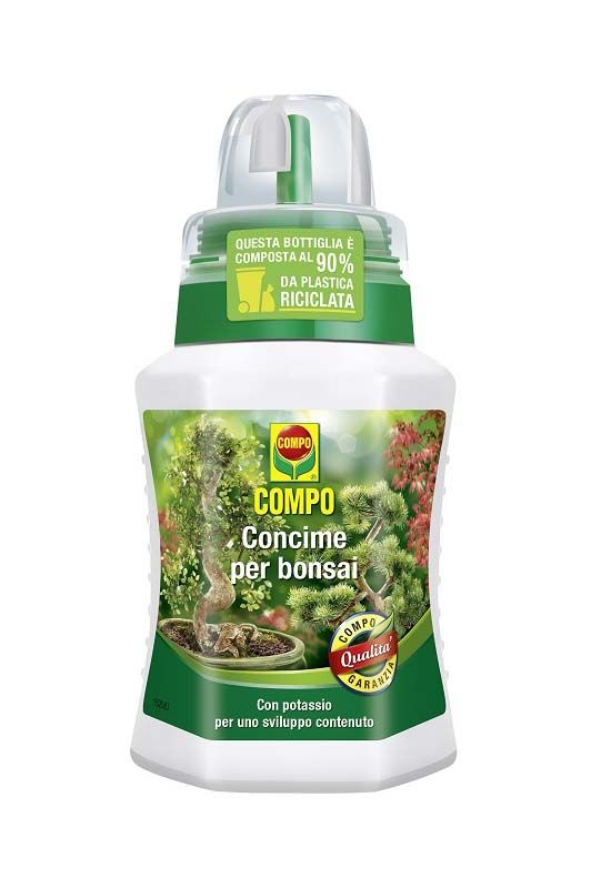 Concime liquido Compo per bonsai