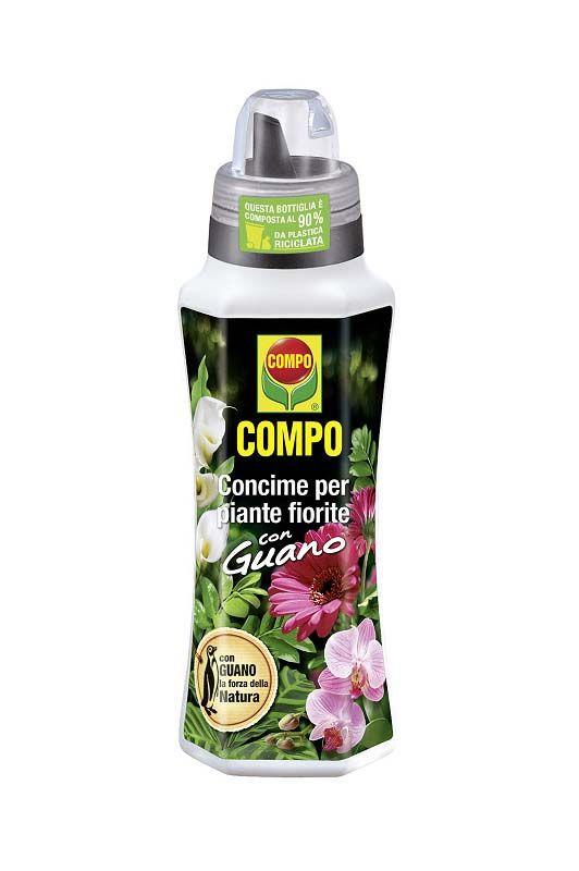 Concime liquido Compo per piante fiorite