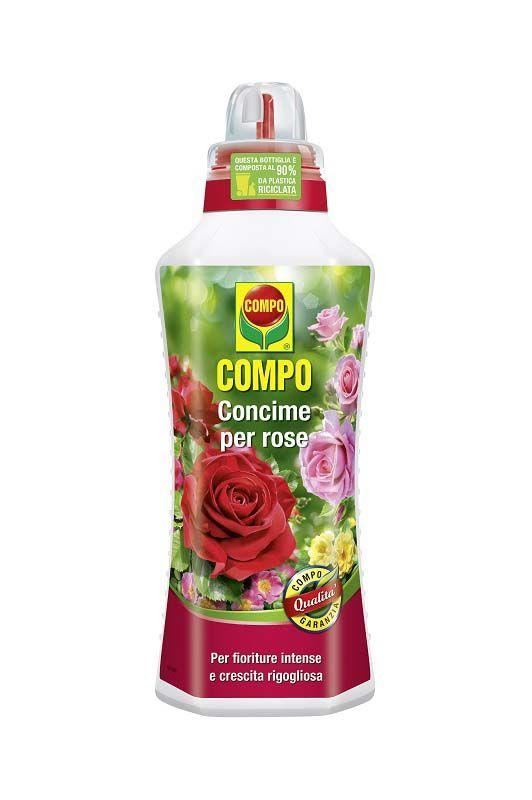 Concime liquido Compo per rose