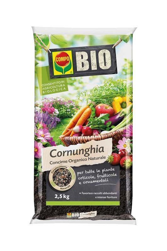 Concime organico azotato Cornunghia Compo