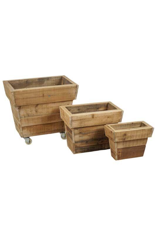 Coprivaso Athezza in legno e ruote