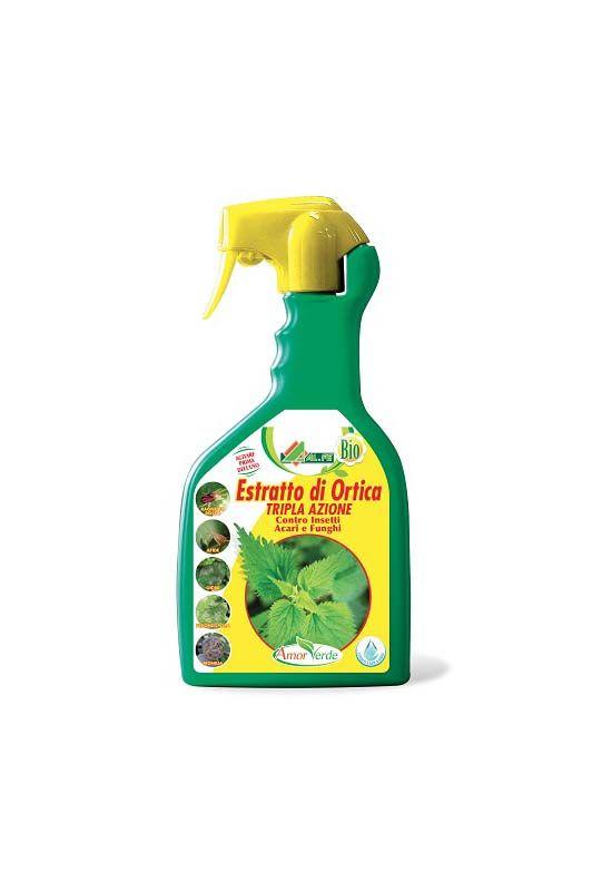 Insetticida e fungicida estratto di ortica pronto uso