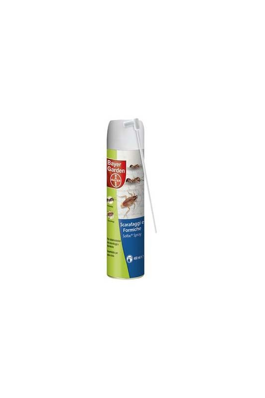 Insetticida per scarafaggi e formiche in spray