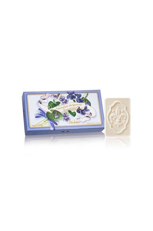 Sapone artigianale Violetta x3