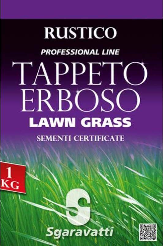 Semi da prato tappeto erboso rustico Professional