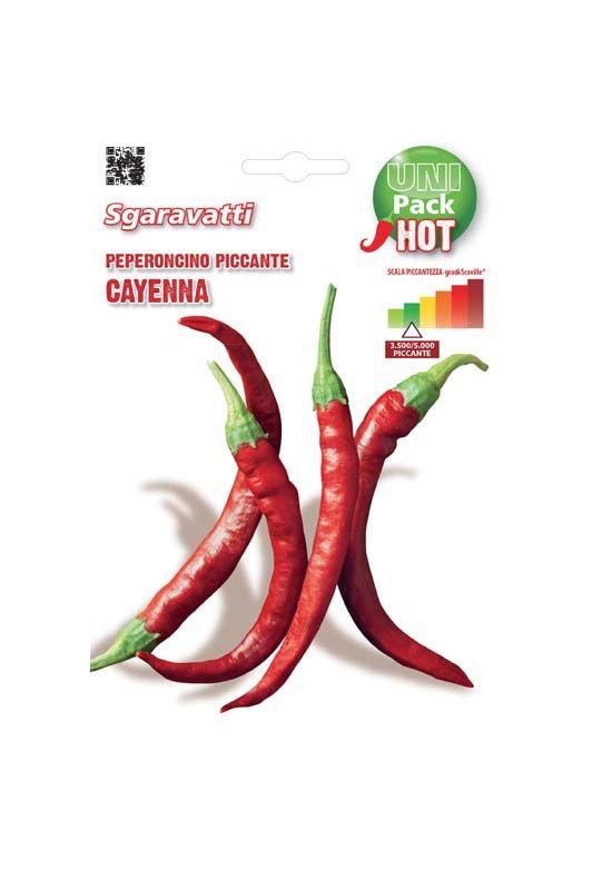 Semi di peperone Piccante di cayenna