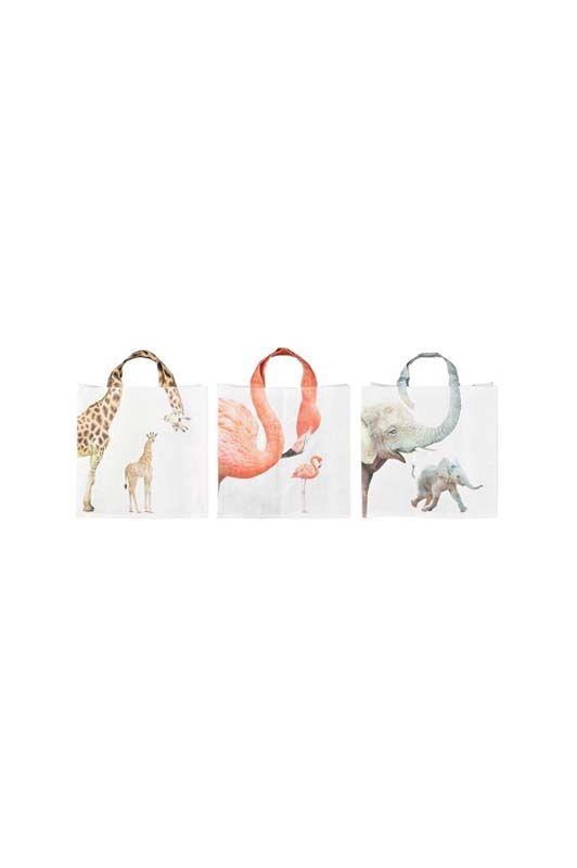 Shop bag animali colori assortiti