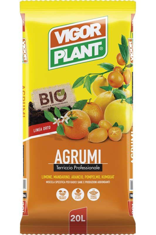 Terriccio Vigorplant per agrumi