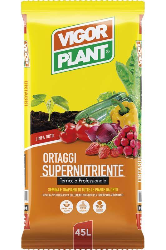 Terriccio Vigorplant Supernutriente per ortaggi
